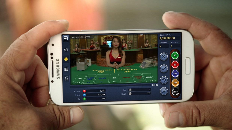 Livecasino på mobilen
